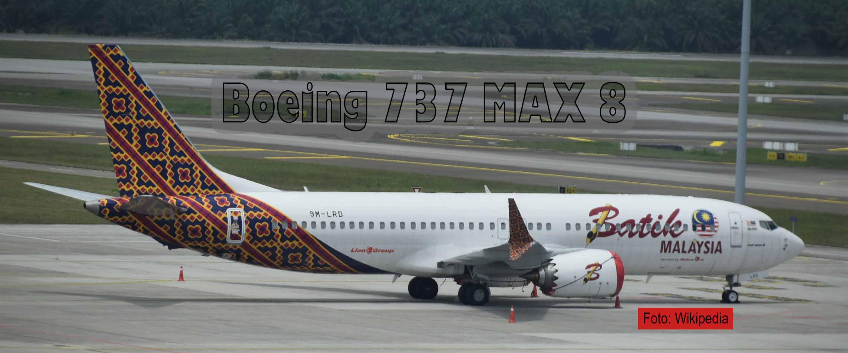 Wieder Boeing 737 MAX 8 abgestürzt-Foto Wikipedia