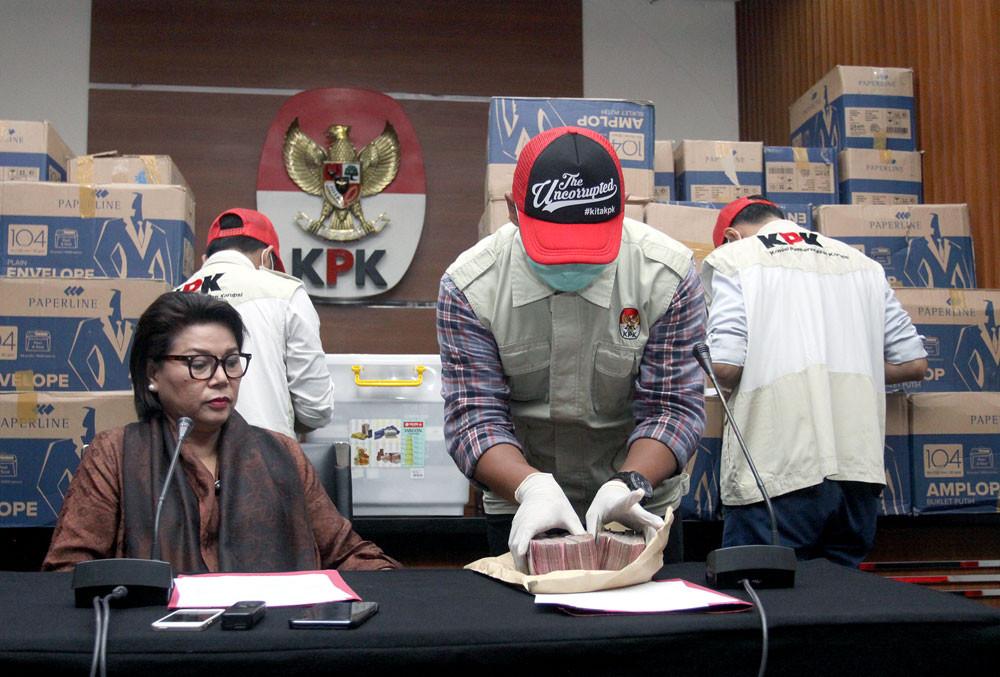 Leiter der Imigrasi in Lombok wegen Korruption verhaftet / Screenshot: Jakarta Post
